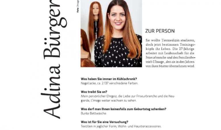 TOP HAIR Business: 11 Fragen an Adina Bürger