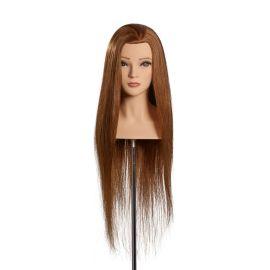Championkopf Chiara, limage, wettbewerbskopf, kopf mit schultern, kopf mit büste, frauenkopf, stativ, übungskopf mit langen haaren, haarkopf, friseurkopf, puppe
